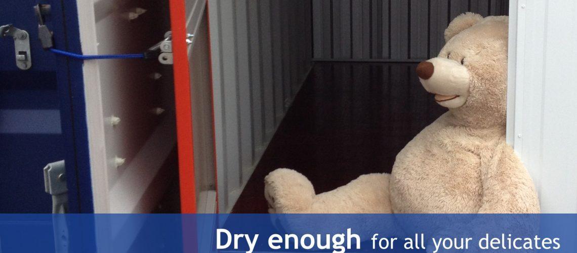 Dry enough storage